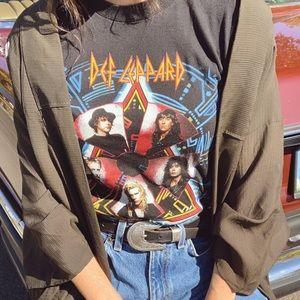 Vintage Def Leppard Hysteria 1988 tour tee shirt